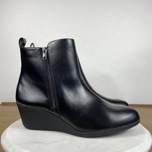 Comfort Plus by Predictions Wedge Ankle Booties